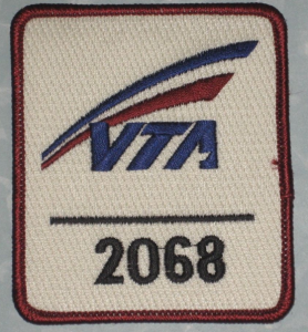 sample VTA badge